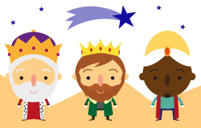 Ya vienen los reyes magos, ya vienen los reyes magos, caminito a … Gorostidi Ideas !!!